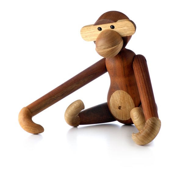 Monkey, Oiled teak (small)