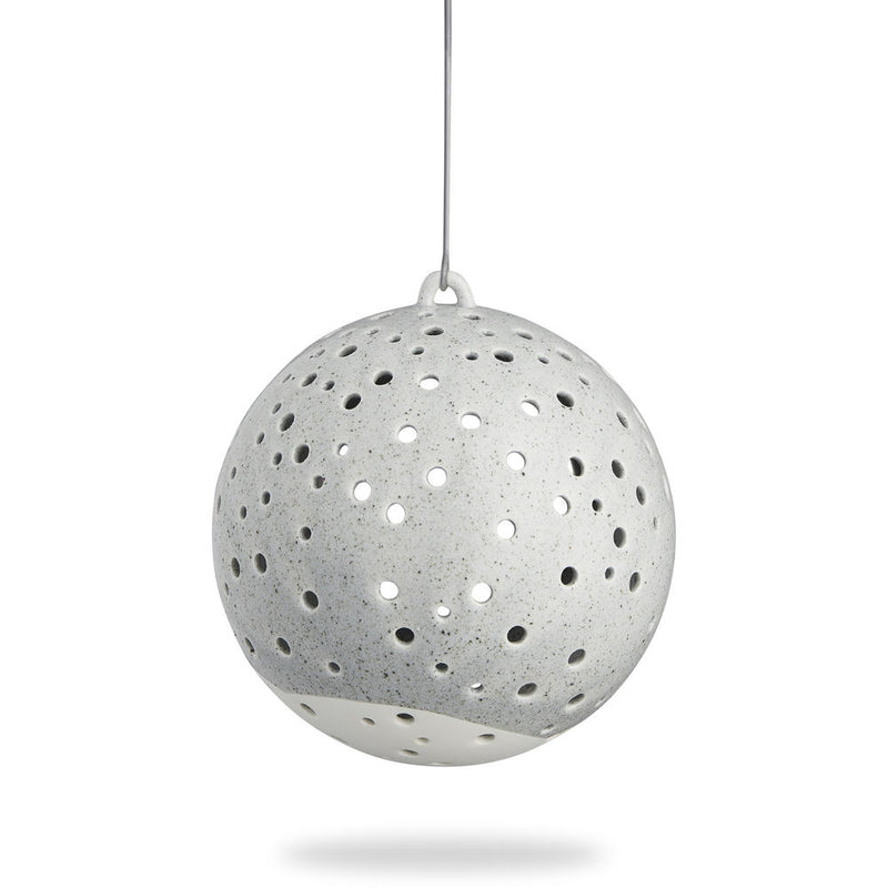 Nobili hanging Tea-light holder - grey