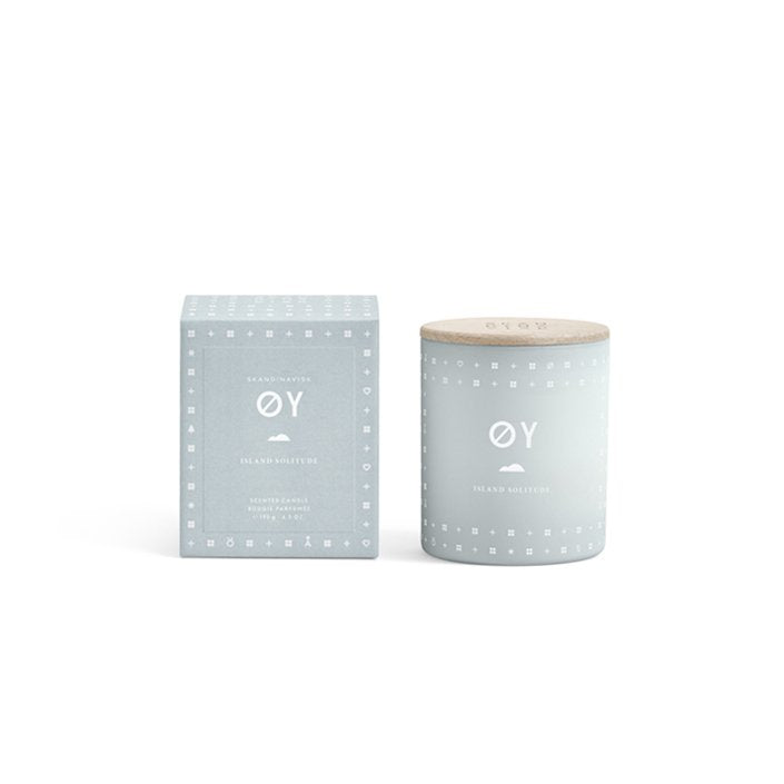 Skandinavisk scented candle - ØY, Norwegian for 'island'