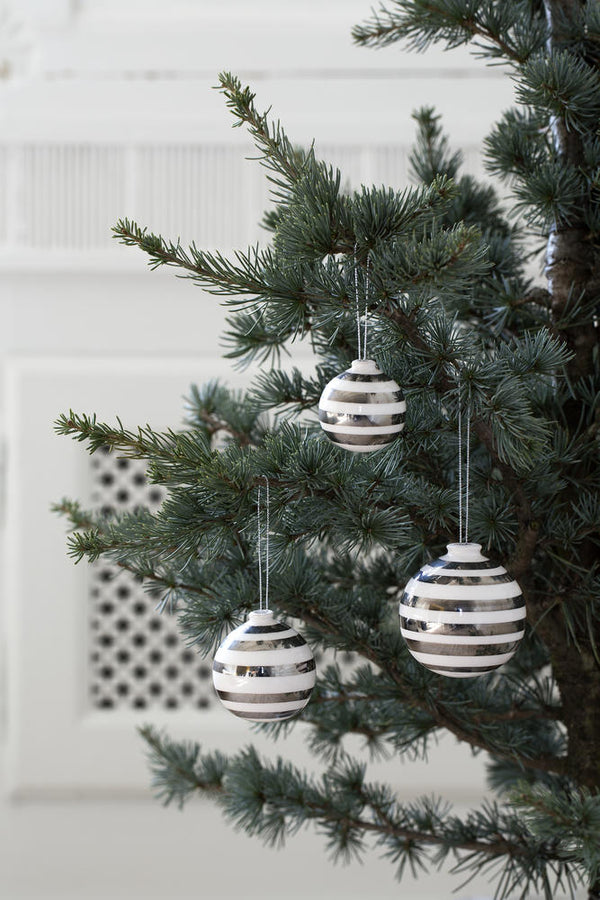 Ommagio Baubles Silver