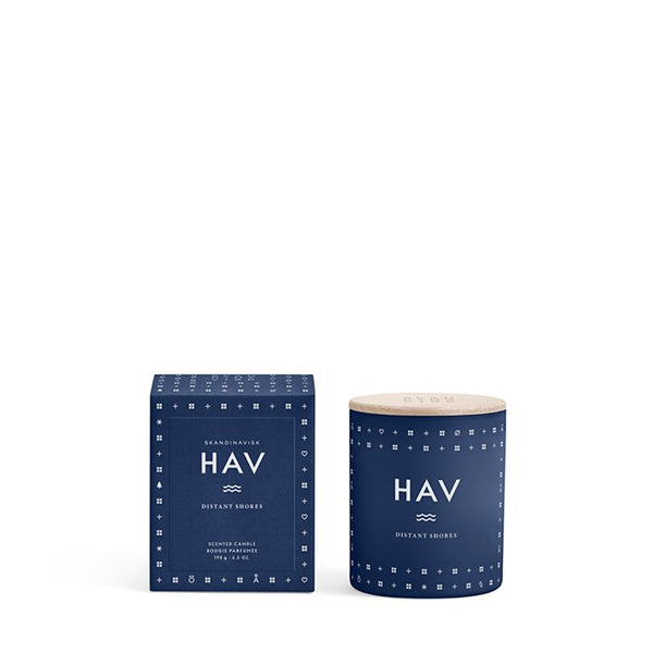 Scented candle - Skandinavisk - HAV, Scandinavian for 'sea'.