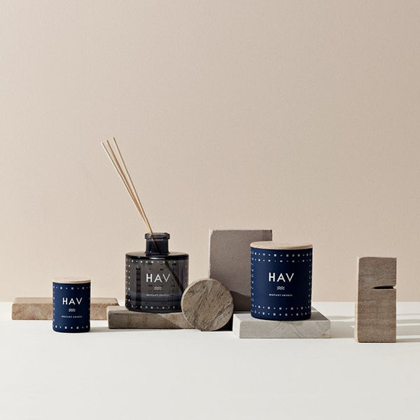 Skandinavisk Scented candle - HAV, Scandinavian for 'sea'.