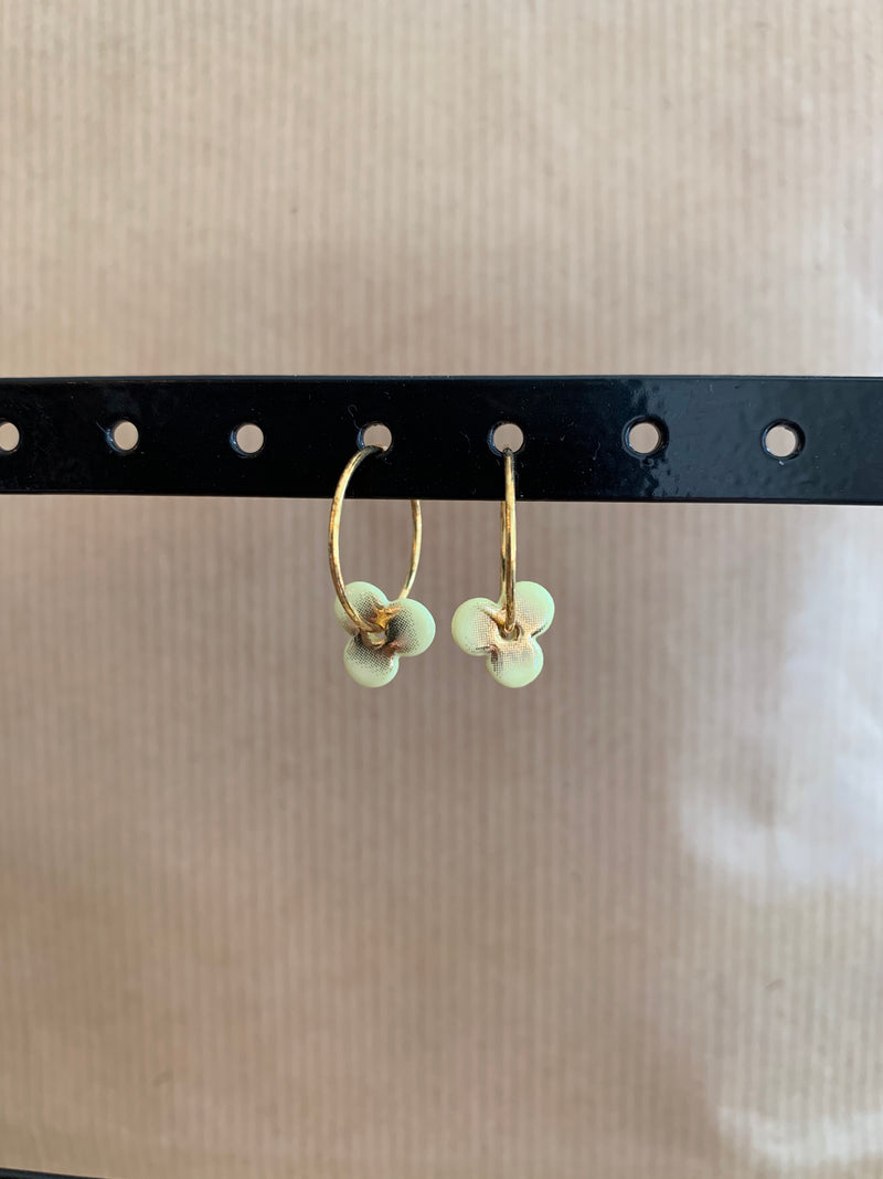 Scherning - HAZE hoop earrings