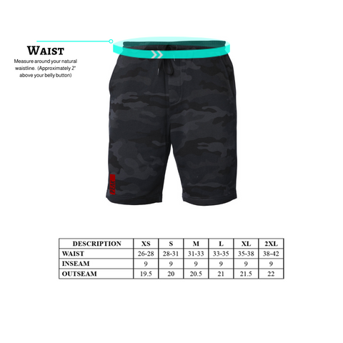 Men's Short Size Chart