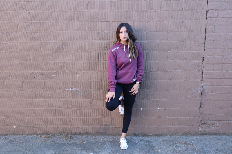 Peak Athleisure Adventure Hoodie Burgundy 3