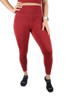 American Fitness Culture Freedom Leggings (Crimson)