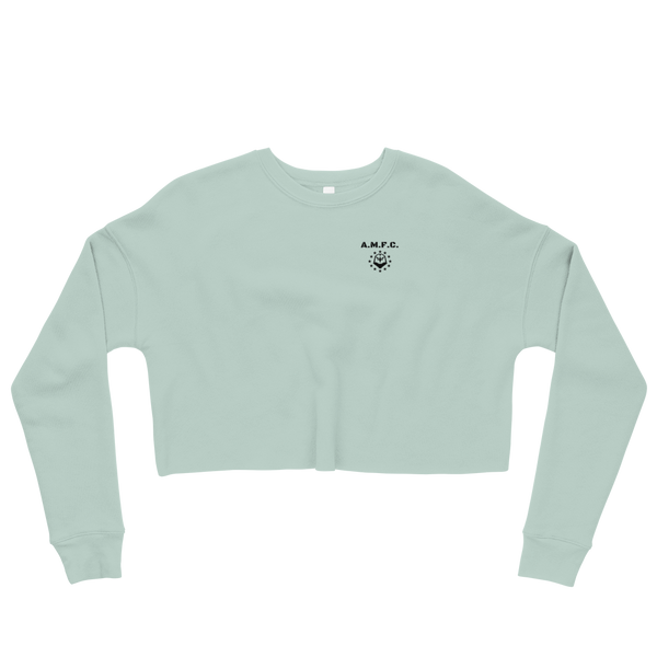 Cropped Crew AMFC (Mint Cream)