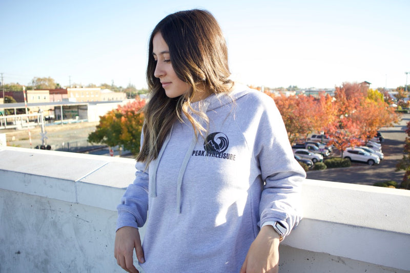 Peak Athleisure Journey Stone Hoodie Womens