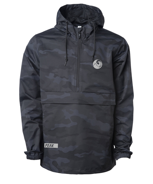 3/4 zip Anorak (Night Camo)
