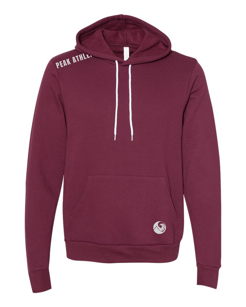 Peak Athleisure Adventure Hoodie Burgundy