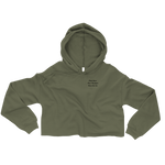 Cropped Hoodie [Army Green]