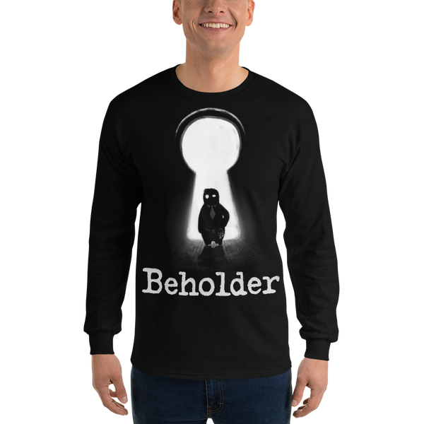 Carl in a Keyhole - Long Sleeve T-Shirt