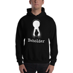 Carl in a Keyhole - Unisex Hooded Sweatshirt