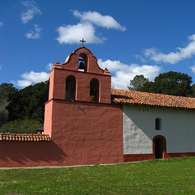 Original art, souvenir & collectible products celebrating the history of Mission La Purisima Concepcion (La Purisima).