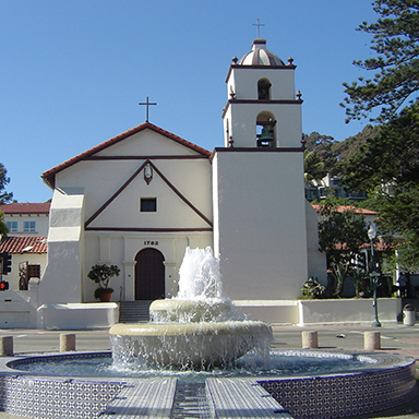 Original art, souvenir & collectible products celebrating the history of Mission San Buenaventura.