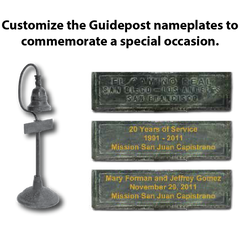 Customized El Camino Real Bell & California Mission Bells