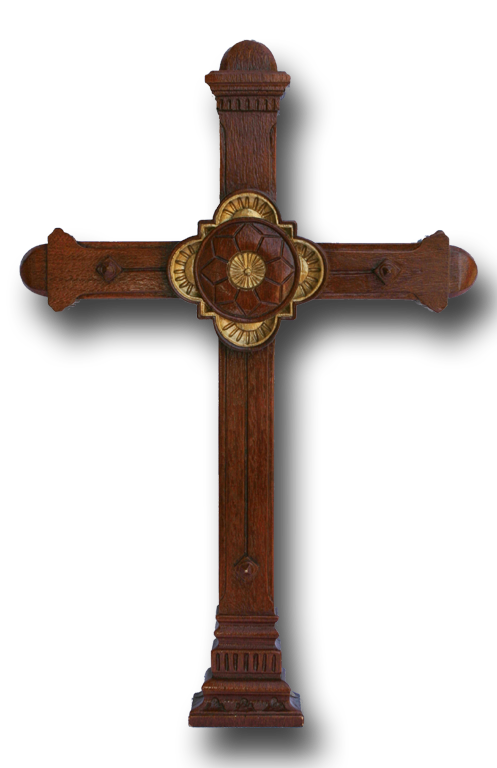 Good Friday Veneration Cross San Juan Capistrano (Replica)  Limited Edition (Signed by Artist)