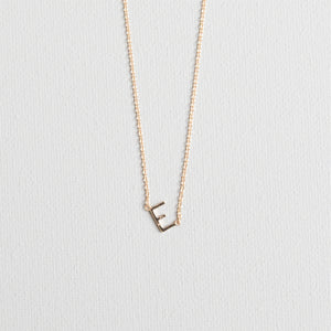 Gold Luxe Initial Necklaces