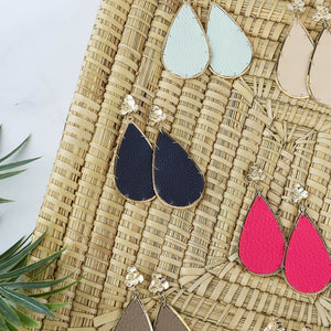 Miami Leather Earrings