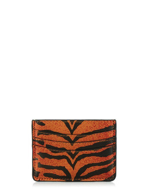 Skinnydip London | Tiger Card Holder - Front Shot