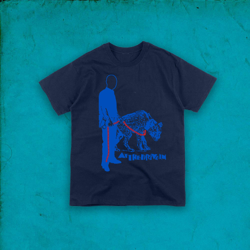 SHRINE NAVY T-SHIRT