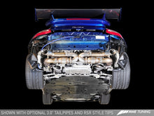 Load image into Gallery viewer, AWE Tuning Porsche 997.2TT Performance Exhaust Solution for OE Tips