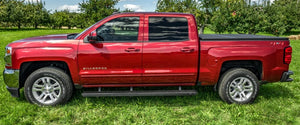 N-Fab Growler Fleet 07-19 Toyota Tundra Regular Cab - Cab Length - Tex. Black