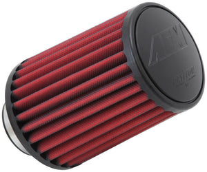 AEM Dryflow Air Filter - Round Tapered - 2.75in Flange ID x 5.5in Base OD x 4.75in Top OD x 7.5in H