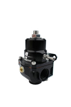 Load image into Gallery viewer, Aeromotive Adjustable Regulator - 35-75PSI - .313 Valve - (2) -08 Inlets/-08 Return