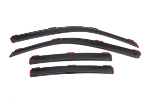 AVS 11-18 Dodge Charger Ventvisor In-Channel Front & Rear Window Deflectors 4pc - Smoke