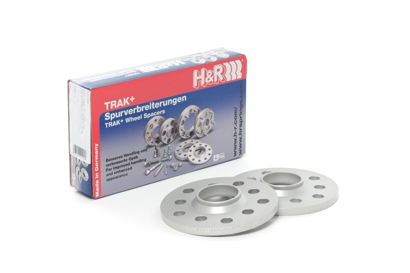 H&R Trak+ 13mm DR Spacer Bolt Pattern 5/112 CB 66.5mm Bolt Thread 14x1.25 - Black