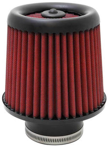AEM DryFlow Air Filter - Round Tapered 5in Top OD x 6 Base OD x 5.563in H x 3in Flange ID
