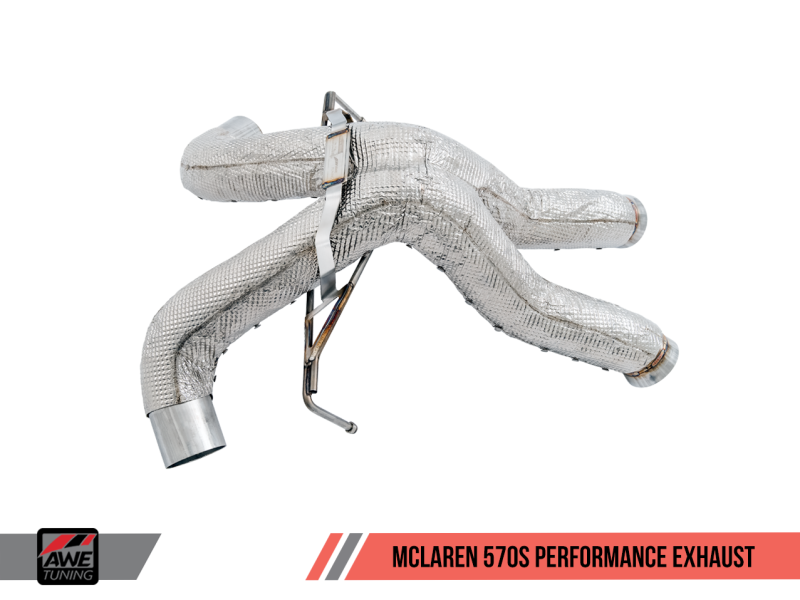 AWE Tuning McLaren 570S/570GT Performance Exhaust