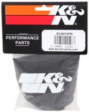 Load image into Gallery viewer, K&N Air Filter Drycharger Wrap Black - 4.5in ID 4in H Polyster