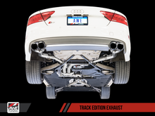 Load image into Gallery viewer, AWE Tuning Audi C7 / C7.5 S7 4.0T Track Edition Exhaust - Chrome Silver Tips