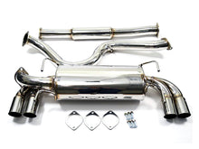 Load image into Gallery viewer, AVO Exhaust 3in Stainless Steel Cat Back Exhaust - 08-10 Subaru STI