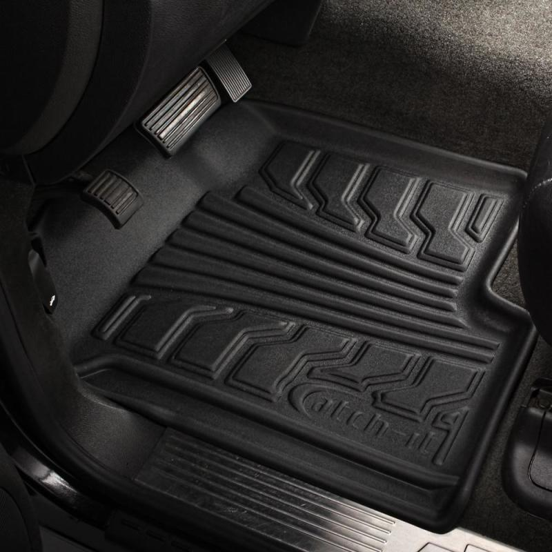 Lund 08-17 Buick Enclave Catch-It Floormat Front Floor Liner - Black (2 Pc.)