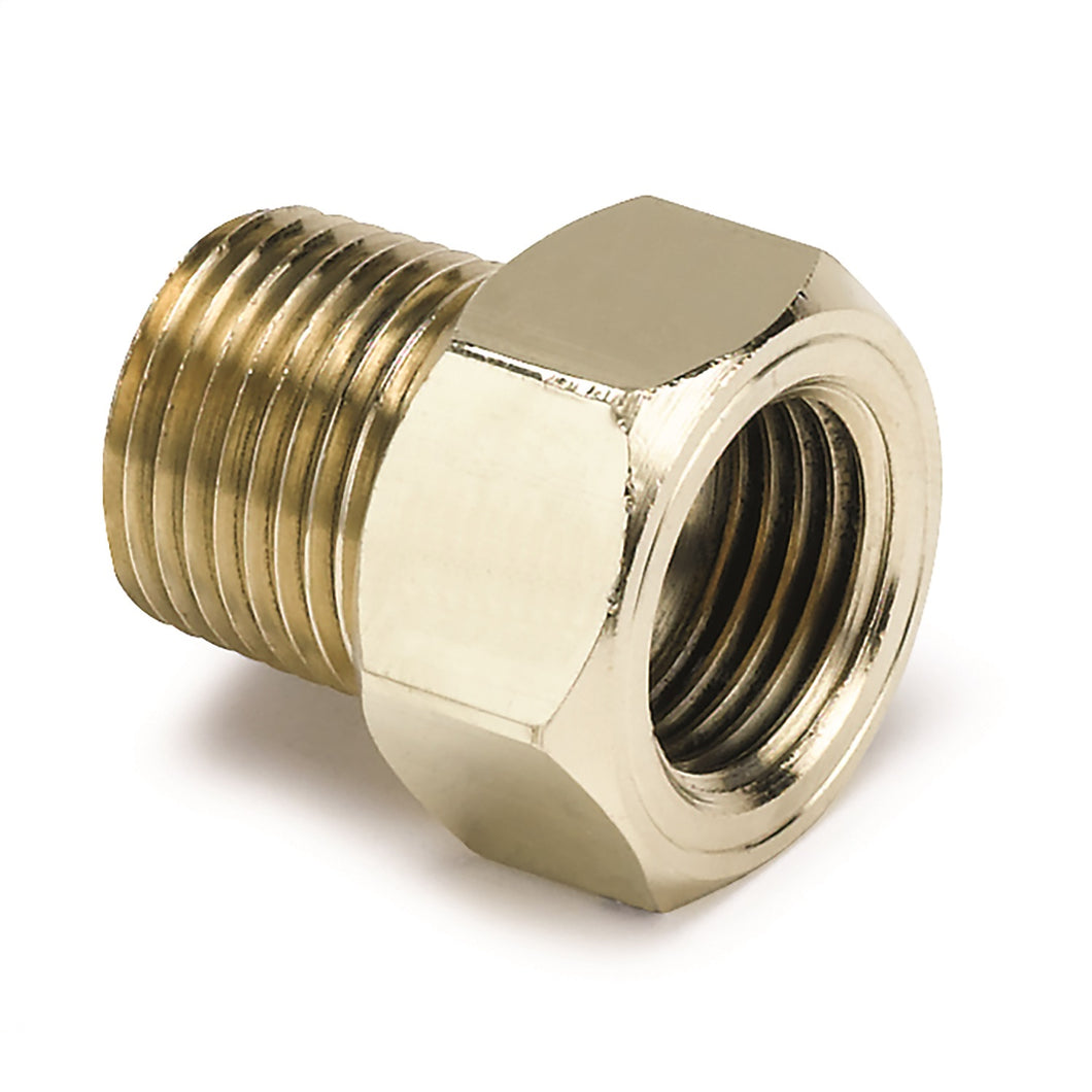 Autometer 3/8in Brass NPT Mechanical Temp Adapter