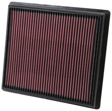 Load image into Gallery viewer, K&N Replacement Filter 11.25in O/S Length x 10in O/S Width x 1.25in H for 13 Cadillac XTS 3.6L V6