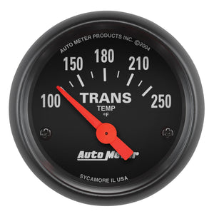 Autometer Z Series 52mm 100-250 Deg Transmission Temp Gauge