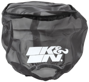K&N 6in ID x 6inH Closed Top Black DryCharger Air Filter Wrap