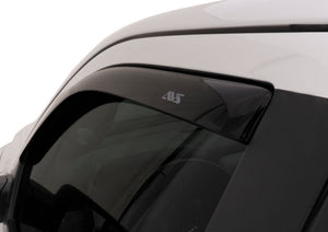 AVS 16-18 Honda Civic Coupe Ventvisor In-Channel Window Deflectors 2pc - Smoke