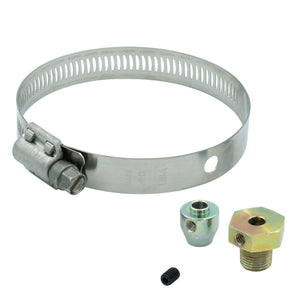 Autometer Thermocouple Fitting Kit 1/8in NPT Male w/ Set Screw and Band Clamp