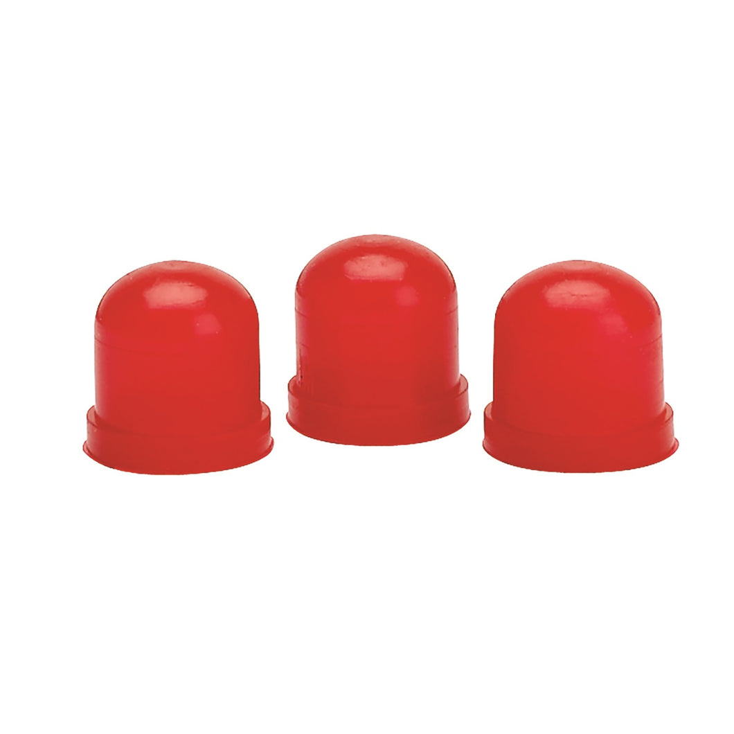 Autometer Red Light Bulb Boots Pack of 3