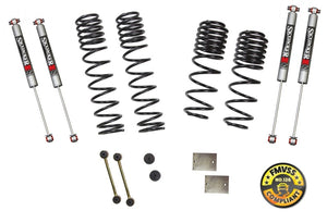 Skyjacker 2018 Jeep Wrangler JL 4 Door 4WD (Rubicon) Long Travel 2 Stage 1in-1.5in Coil System