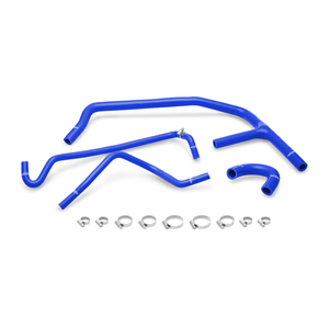 Mishimoto 15+ Ford Mustang EcoBoost Blue Silicone Ancillary Hose Kit