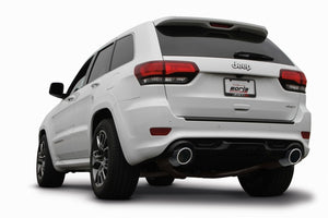 Borla 2015 Jeep Grand Cherokee SRT8 ATAK Dual Round Rolled Exit Catback Exhaust