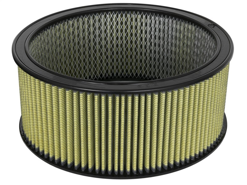 aFe MagnumFLOW Air Filters Round Racing PG7 A/F RR PG7 14OD x 12ID x 6H IN with E/M