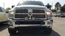 Load image into Gallery viewer, N-Fab Light Bar 10-17 Dodge Ram 2500/3500 - Gloss Black - Light Tabs