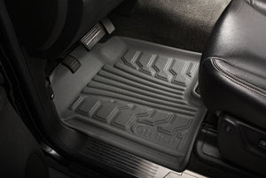 Lund 11-12 Dodge Durango Catch-It Floormat Front Floor Liner - Grey (2 Pc.)